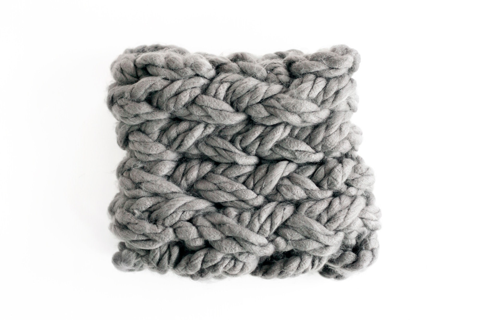 Mega Cowl · Extract from Arm Knitting by Alpha · How To Make