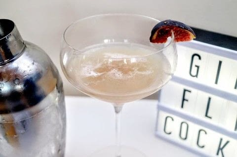 A fruity, sweet and frothy cocktail .  Free tutorial with pictures on how to mix a flip cocktail in under 5 minutes by mixing drinks with ice, fig, and liqueur. Recipe posted by Cat Morley.  in the Recipes section Difficulty: Simple. Cost: Cheap. Steps: 6