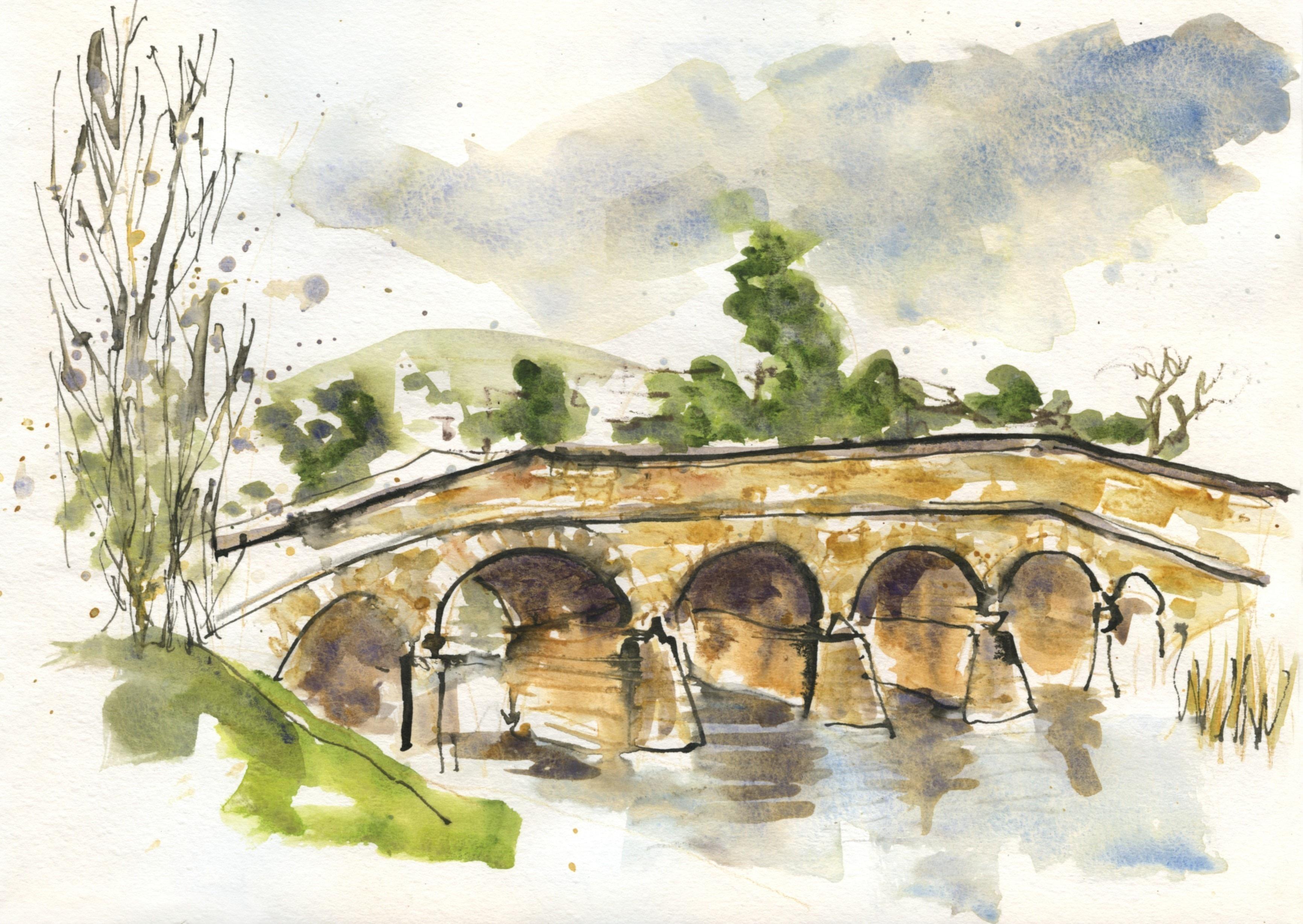 Bridges Sketch Art