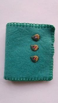 Neater needles and no more accidental stabbings! .  Make a needle & pin cases in under 60 minutes using fabric, fusible web, and felt. Inspired by birds. Creation posted by Helen W.  in the Sewing section Difficulty: Easy. Cost: Cheap.