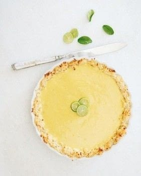 Lauren Conrad Celebrate .  Free tutorial with pictures on how to bake a key lime pie in under 45 minutes by cooking and baking with sweetened condensed milk, egg, and vanilla extract. Recipe posted by HarperCollins.  in the Recipes section Difficulty: Simple. Cost: Cheap. Steps: 5