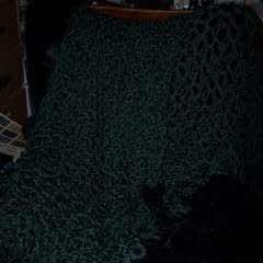 Simple Crocheted Throw