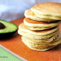 Whole Wheat Avocado Pancakes