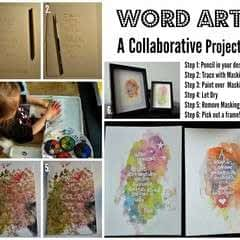 Collaborative Word Art