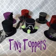 """Tiny Toppers"" Mini Top Hats"