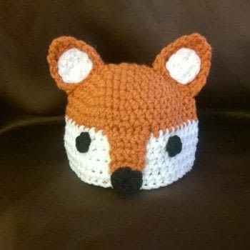Fox baby set .  Make a crochet using acrylic yarn, polyfill, and crochet hook. Inspired by babies, baby showers, and foxes. Creation posted by Carol S.  in the Yarncraft section Difficulty: Simple. Cost: Cheap.