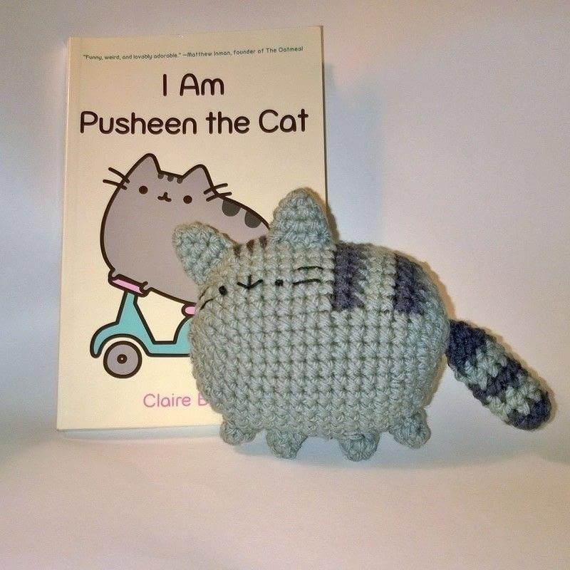 Pusheen Amigurumi Free Pattern : Pusheen Amigurumi ? A Character Plushie ? Yarncraft on Cut ...
