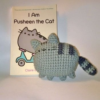 Pusheen the Cat .  Make a character plushie in under 60 minutes by crocheting with yarn and crochet hook. Inspired by cats. Creation posted by Carol S.  in the Yarncraft section Difficulty: Easy. Cost: Cheap.