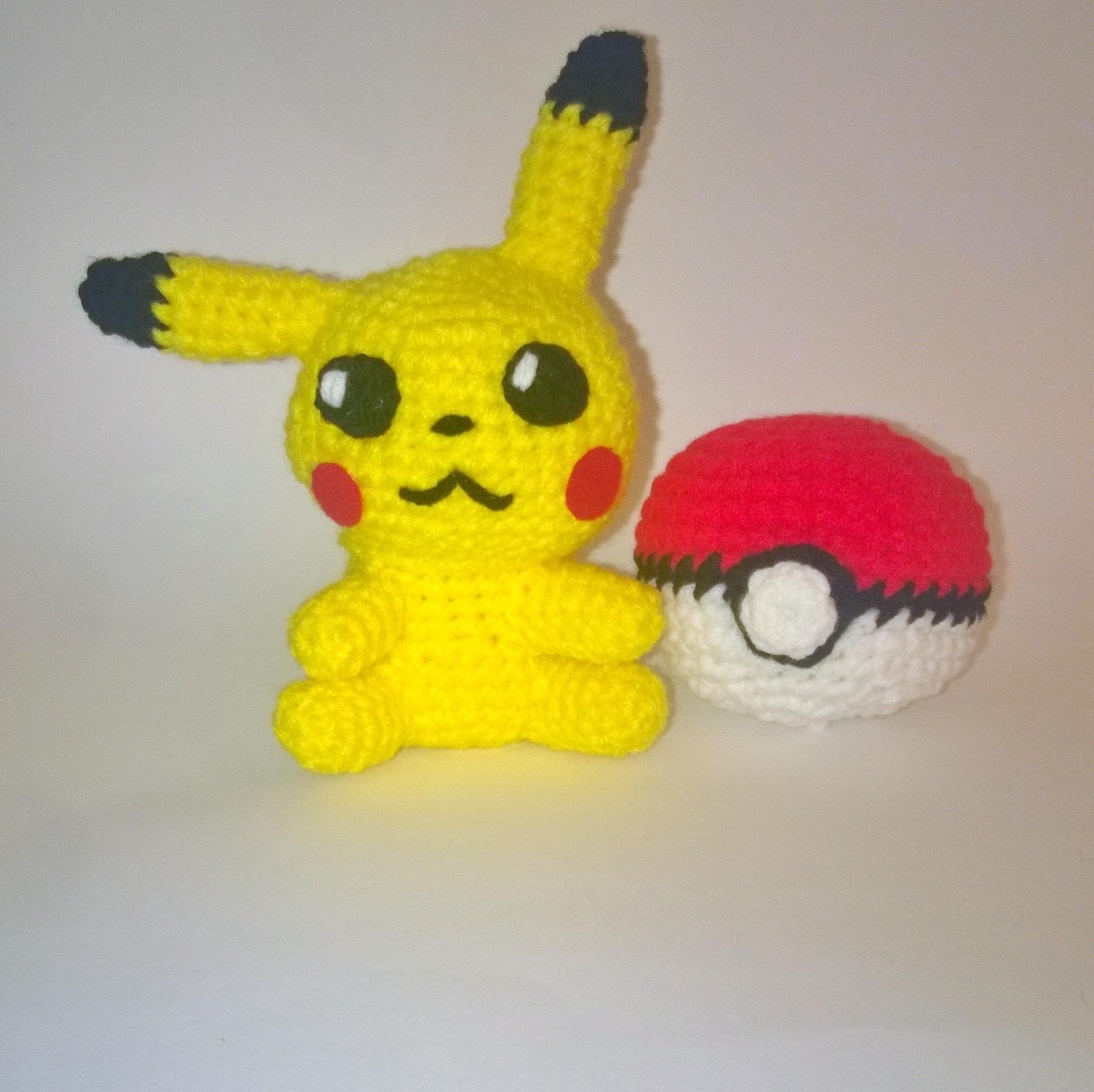 Pokemon Amigurumi ? A Pokemon Plushie ? Yarncraft on Cut ...