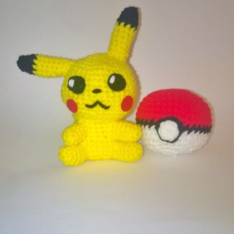 Amigurumi Pokemon Instructions : Pokemon Amigurumi ? A Pokemon Plushie ? Yarncraft on Cut ...