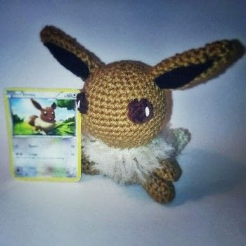 Pokémon - Gotta Catch Em All! .  Make a Pokemon plushie in under 120 minutes by crocheting with worsted yarn, crochet hook, and polyfill. Inspired by pokemon and pokeballs. Creation posted by Carol S.  in the Yarncraft section Difficulty: 3/5. Cost: 3/5.