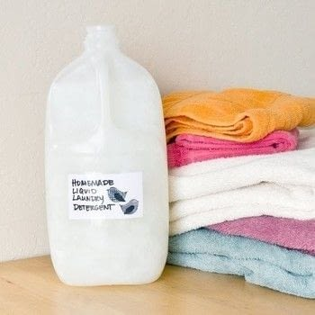 For a clean and fresh smelling clothes .  Free tutorial with pictures on how to make a cleaning product in under 20 minutes using jug, washing soda, and borax. Inspired by inspiration. How To posted by Melissa T.  in the Other section Difficulty: Easy. Cost: Cheap. Steps: 4