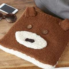 Teddy Travel Blanket