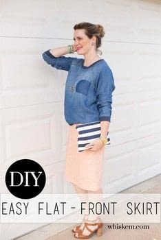 Create a flattering woven pencil skirt! .  Free tutorial with pictures on how to make a pencil skirt in under 90 minutes by sewing and dressmaking with thread, linen, and elastic. How To posted by BonnieWhiskem.  in the Sewing section Difficulty: Simple. Cost: No cost. Steps: 6