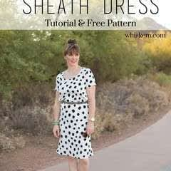 Woven Sheath Dress