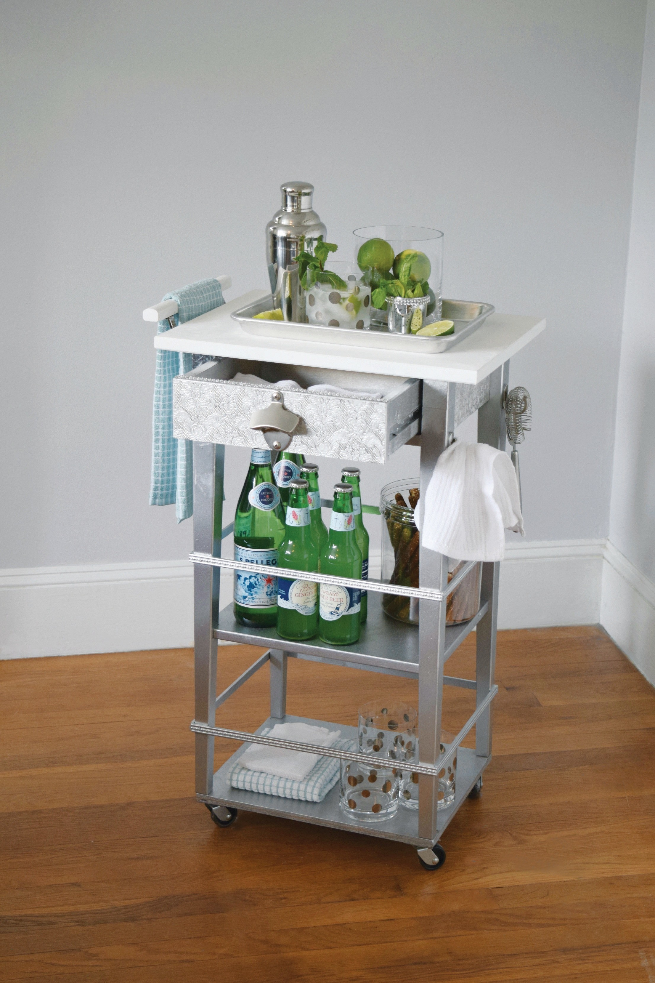 Rolling Bar Cart Extract From I Modify Ikea By Charlotte Rivers Elyse Major How To Make A Bar Cart