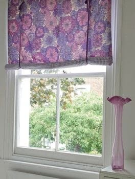 Learn To Sew .  Free tutorial with pictures on how to make a curtain/blinds in under 120 minutes by sewing with patterned fabric, gingham , and sewing thread. How To posted by Ryland Peters & Small.  in the Sewing section Difficulty: Simple. Cost: Cheap. Steps: 8