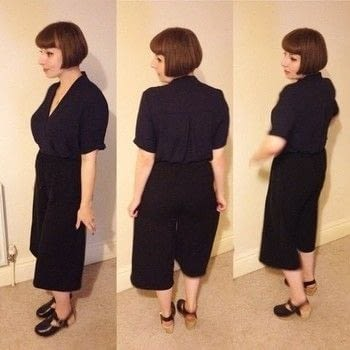 Trusted trouser to cool culottes! .  Free tutorial with pictures on how to make trousers in under 60 minutes by sewing and machine sewing How To posted by shaunimagnifique.  in the Sewing section Difficulty: Simple. Cost: Absolutley free. Steps: 3