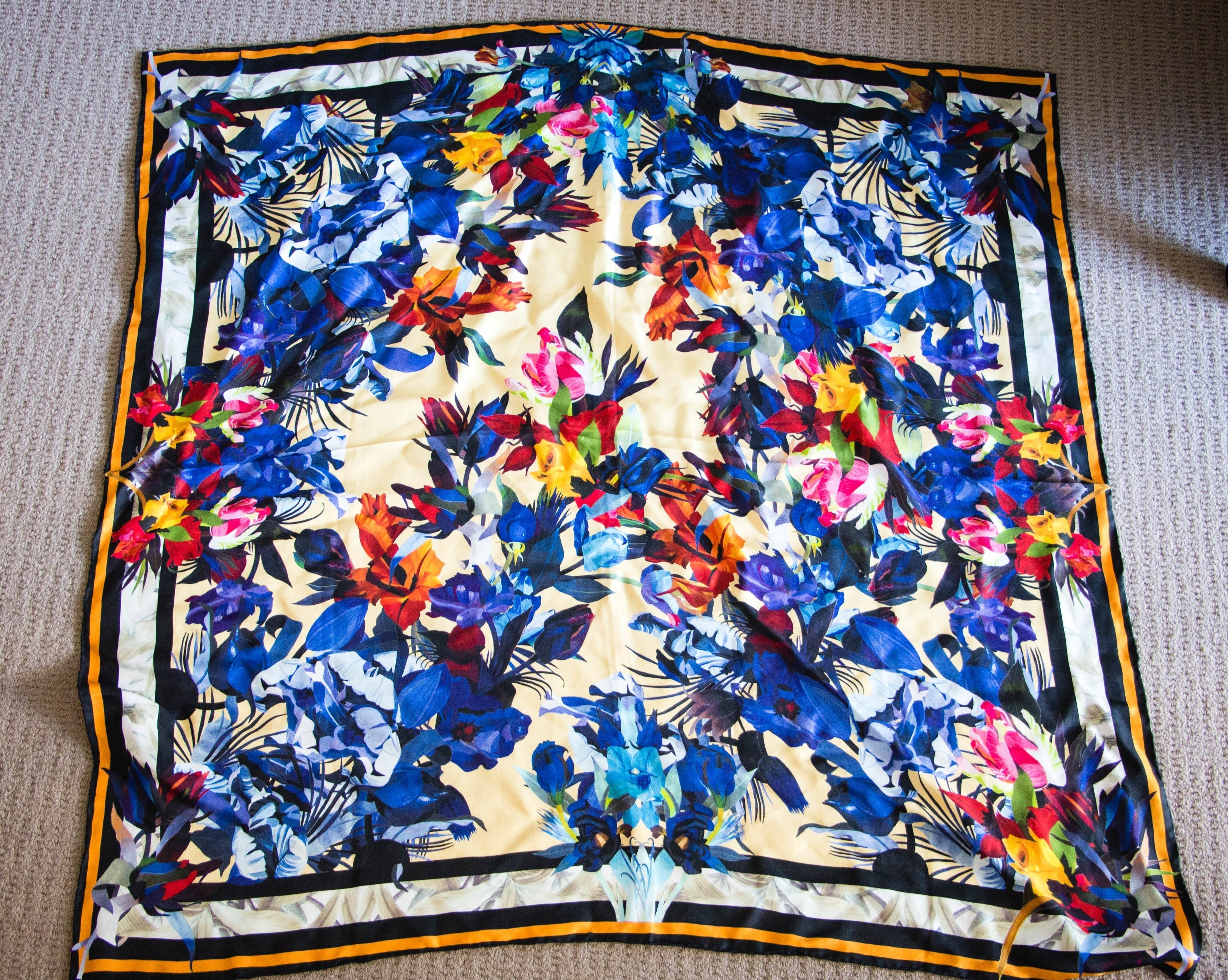 How To Tie A Silk Scarf Make Other On Cut