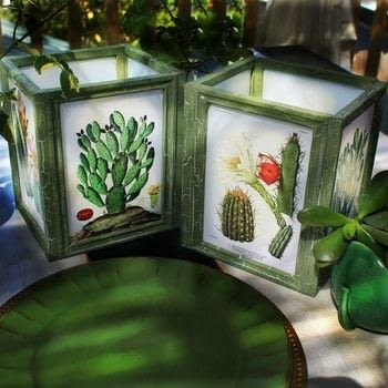 Turn dollar store frames into beautiful lanterns .  Free tutorial with pictures on how to make a decorative light in under 60 minutes by creating, creating, constructing, embellishing, papercrafting, and decoupaging with americana decoupage in gloss, frames, and images. How To posted by Mark Montano.  in the Art section Difficulty: Easy. Cost: Cheap. Steps: 3