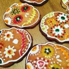 Mexican Day Of The Dead Sugar Cookies