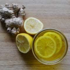 Ginger Turmeric Lemon Honey Tea
