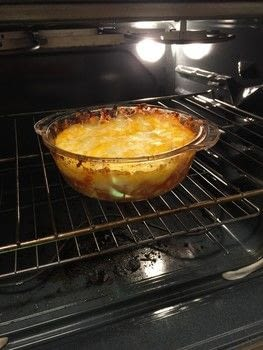 .  Cook a casserole / bake in under 30 minutes Version posted by Melissa Beth. Difficulty: Easy. Cost: Cheap.