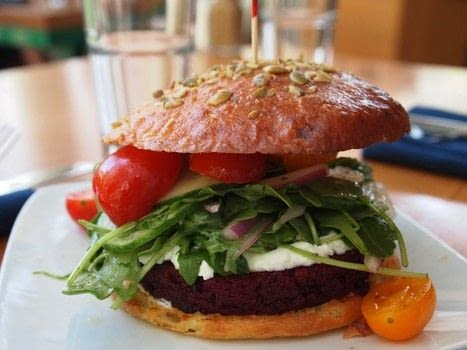 Cook a beetroot and walnut burger with Graze in Madison, Wisconsin .  Free tutorial with pictures on how to cook a veggie burger in under 15 minutes by cooking with beets, walnuts, and potato starch. Inspired by vegetarian. Recipe posted by A Bite To Eat.  in the Recipes section Difficulty: Simple. Cost: Cheap. Steps: 3