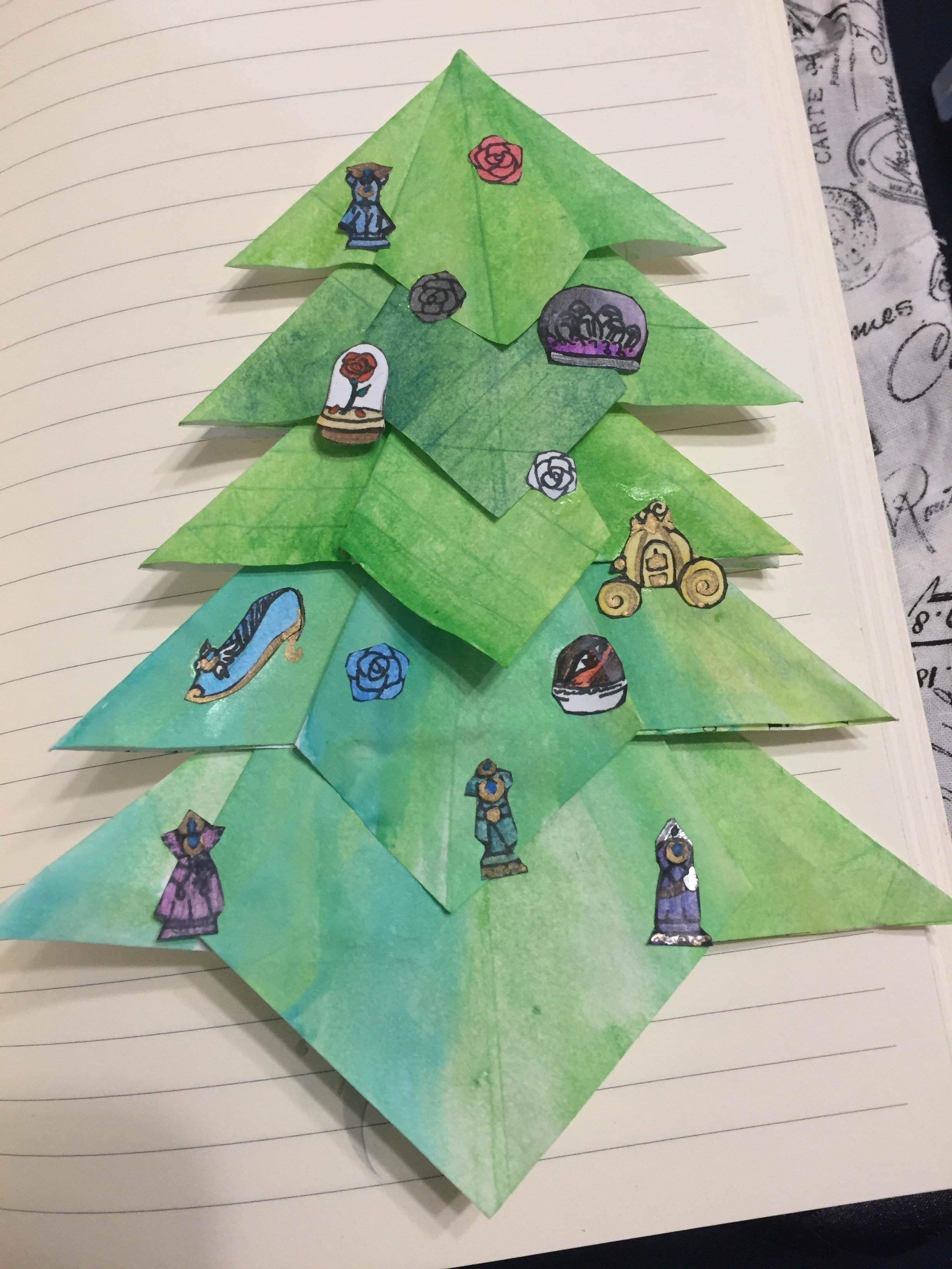 the perfect seasonal scrapbook embellishment fold an origami tree in under 45 minutes by creating