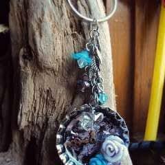 Soda Cap Keychain/Charm