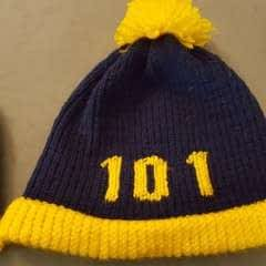 Fallout Vault Hats Loom Knitted