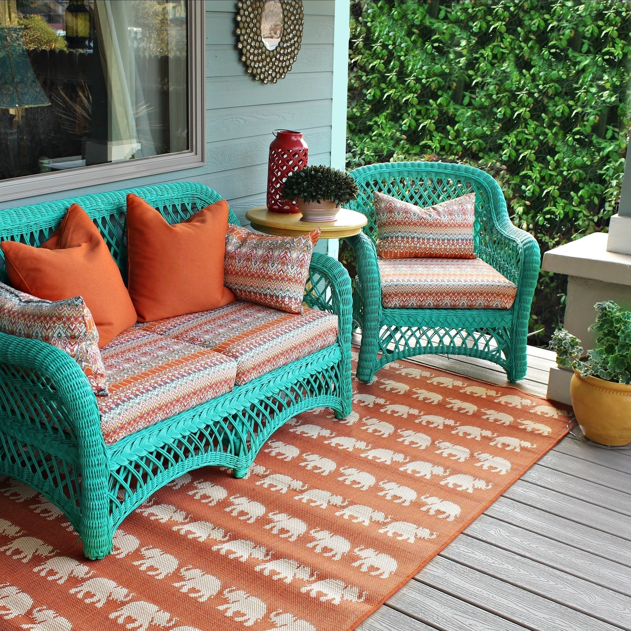 patio diy cushions turquoise ideas best furniture