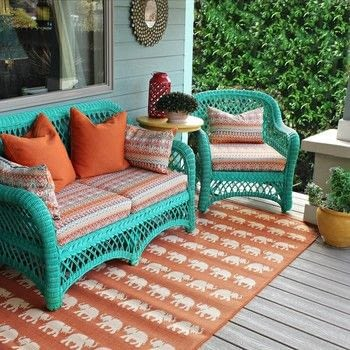 Upholster your patio furniture cushions without a sewing machine! .  Free tutorial with pictures on how to make a pillow/cushion in under 180 minutes by upholstering, woodworking, and not sewing with e-6000 fabri-fuse, e-6000 stitchless glue, and iron. How To posted by Mark Montano.  in the Decorating section Difficulty: 3/5. Cost: 3/5. Steps: 3