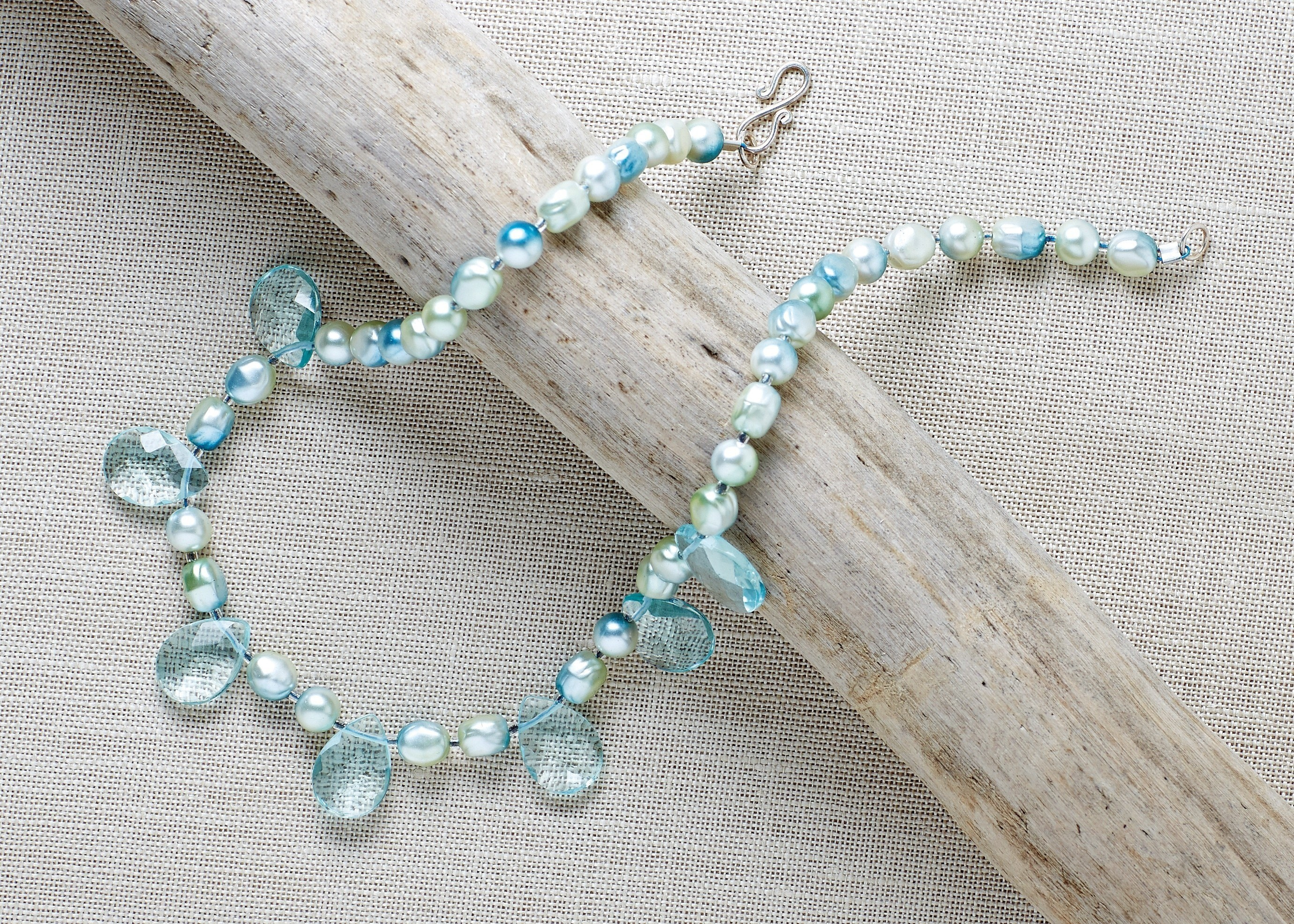 Sea Glass Necklace · Extract from Bead Sparkle by Susan Beal · How ...