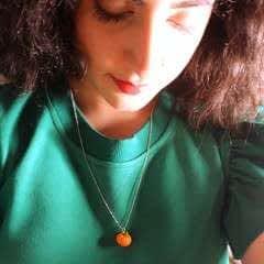 Pumpkin Necklace