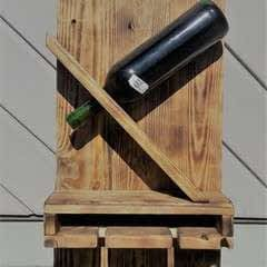 Diy Weinhalter Aus Eu Pallete / Wineholder Out Of Palette