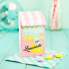 Diy Printable Lemonade Stand Favor Box