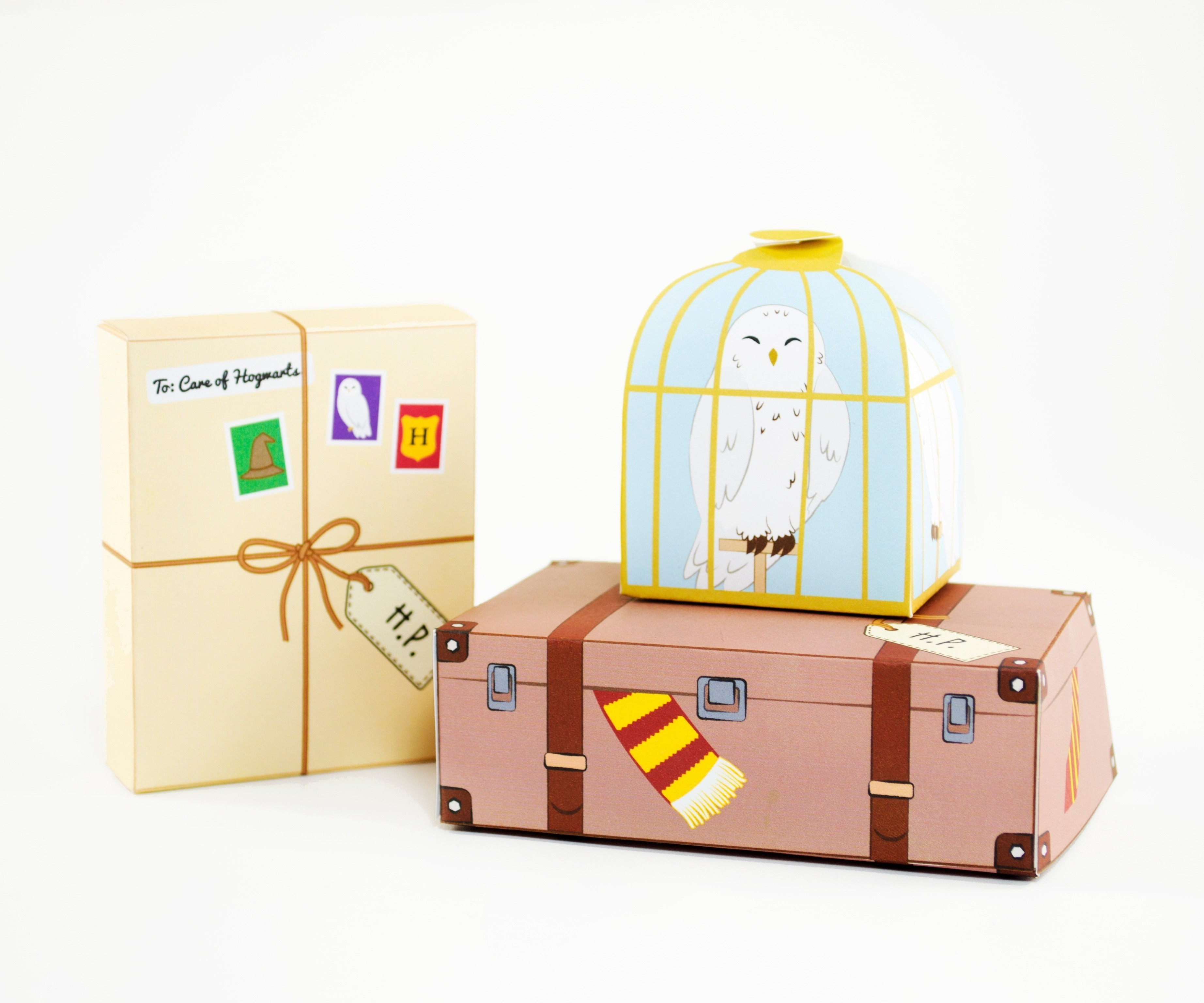 photo about Printable Box referred to as Do it yourself Printable Harry Potter Encouraged Want Containers · How Towards