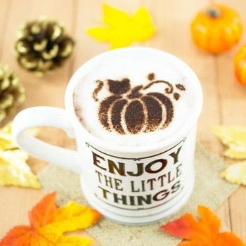 DIY Fall Latte Art Stencils  .  Free tutorial with pictures on how to make a stencil in under 35 minutes by papercrafting and stencilling Inspired by cats, pumpkins, and acorns. How To posted by Alle C.  in the Papercraft section Difficulty: 3/5. Cost: Absolutley free. Steps: 7