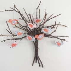 Twig Tree Wall Decor Diy