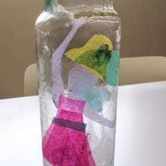Artsy Bottle Decor