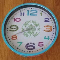 Boho Wall Clock Diy