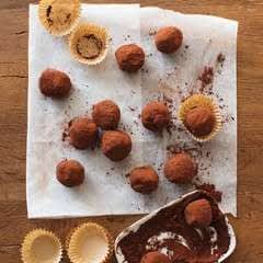 Mexican Hot Chocoloate Truffles