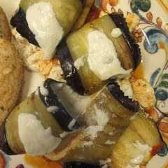 Eggplant Stuffed Shells