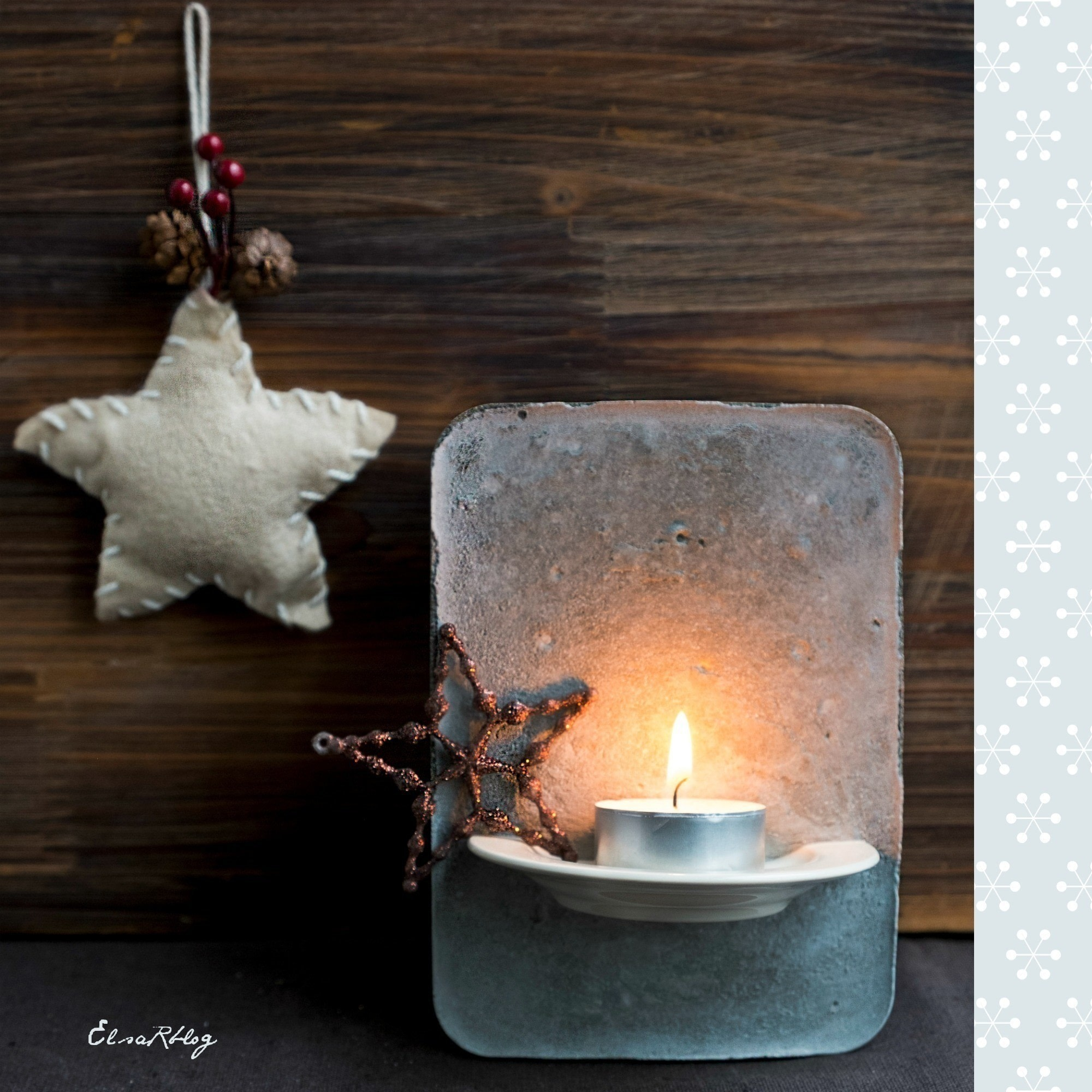 tea light holder from cement diy how to make a votive candle holder other on cut out keep. Black Bedroom Furniture Sets. Home Design Ideas
