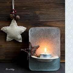 Tea Light Holder From Cement  Diy