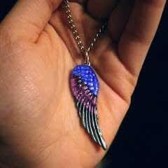 Gwendolyn Wing Pendant
