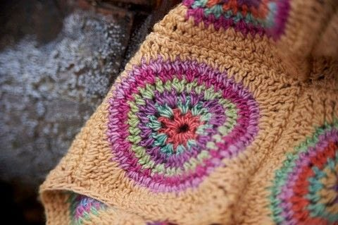Rainbow Crocheted Blankets .  Free tutorial with pictures on how to stitch a knit or crochet blanket in 3 steps by crocheting with yarn and crochet hook. How To posted by Search Press.  in the Yarncraft section Difficulty: 3/5. Cost: 3/5.