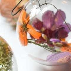 Diy: Dried Flower Ornaments