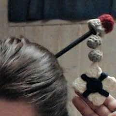 Overwatch, Mei Hairpin Crochet